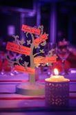 Arbre porte-menu - Occasion du Mariage