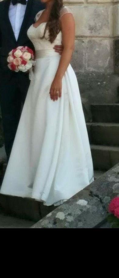 Robe de mariée San Patrick couleur ivoire - Paris 15ème