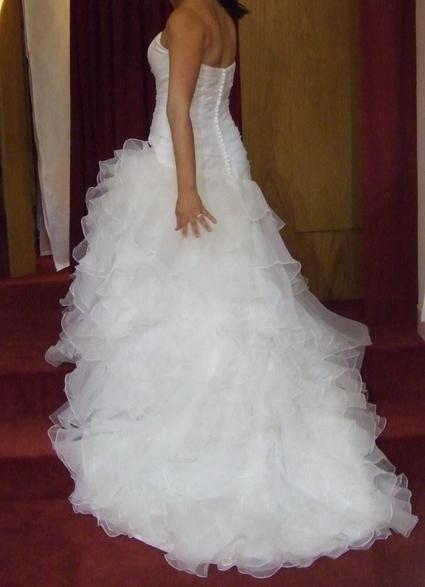 Robe de Mariée Juliette Mariage en blanc naturel