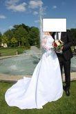 Robe de mariée + jupon + voile - Occasion du Mariage