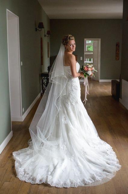 Robe de mariée sirène taille 38 Pronuptia