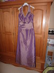 robe Point Mariage mauve 44 / 46  - Occasion du Mariage