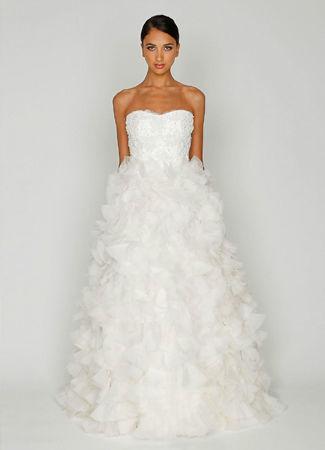 Robe de mari e mod le bliss de monique lhuillier for Monique lhuillier robes de mariage