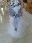 robe de mariée taille 38 noire et blanche - Occasion du Mariage
