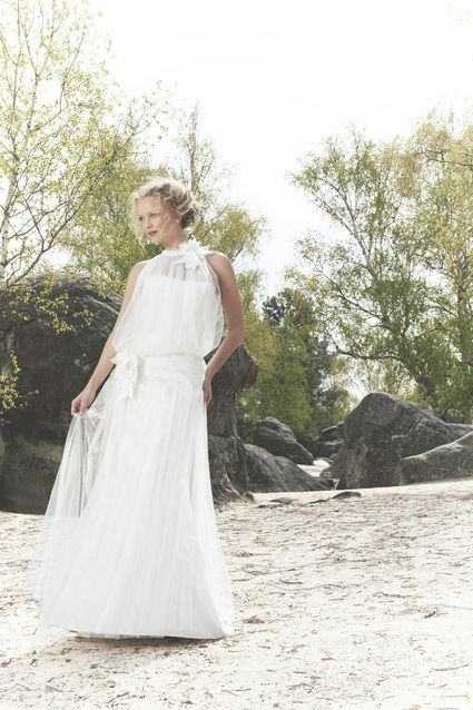 Robe de mari e pronuptia 2012 collection boh me pas cher for Petite occasion habille les mariages
