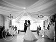 Tentures en satin blanc - Occasion du Mariage