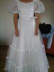 Robe de mariée bustier satin taille 38/40 - Occasion du Mariage
