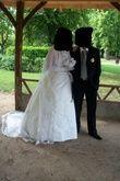 Robe de mariée taille 48 à 50 avec jupon - Occasion du Mariage