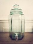 Location Bonbonnes de 6,5 litres en verre avec robinet - Occasion du Mariage