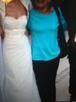Robe de mariée avec caraco et jupon offert - Occasion du Mariage