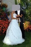 robe de mariée et ses accessoires - Occasion du Mariage