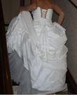 Robe de mariée ivoire T38 ajustable - Occasion du Mariage