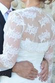 robe de mariée courte avec boléro - Occasion du Mariage