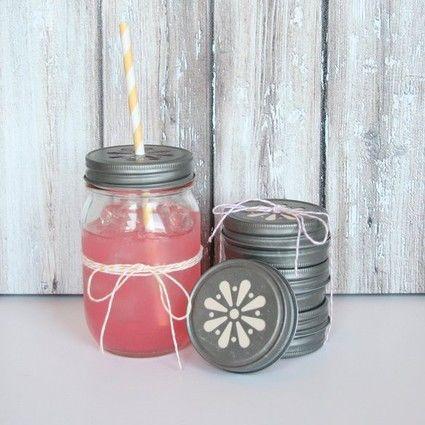 Mason jar limonade bar bonbonne avec robinet paris - Bonbonne en verre avec robinet pas cher ...