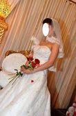 robe de mariée avec son voile  - Occasion du Mariage
