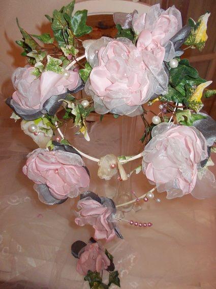 Bouquet de mariée vintage campagne chic
