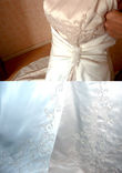 Jolie robe de mariee ivoire et doree 42-44 - Occasion du Mariage