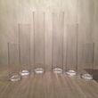 lot de 6 vases cylindriques - - Occasion du Mariage