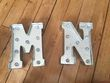 Lettres lumineuses M N - Occasion du Mariage