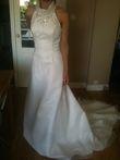 Robe Marylise en Organza blanc - Occasion du Mariage