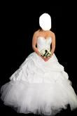 Robe de mariée blanche taille 36 - Occasion du Mariage