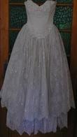 robe de mariée américaine paillettes T 38 -40 - Occasion du Mariage
