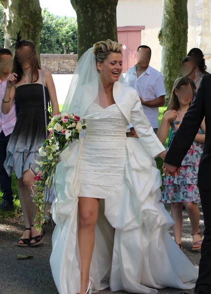 Robe De Mariée Princesse Miss France Moderne Et élégante Occasion Du Mariage