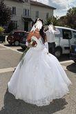 robe de mariée miss kelly et voile 3 mètres - Occasion du Mariage