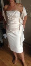 superbe robe mairee courte  - Occasion du Mariage