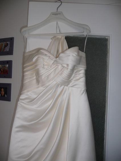 Robe de mariée Pronovias modèle Palmarès 2012 neuve T40