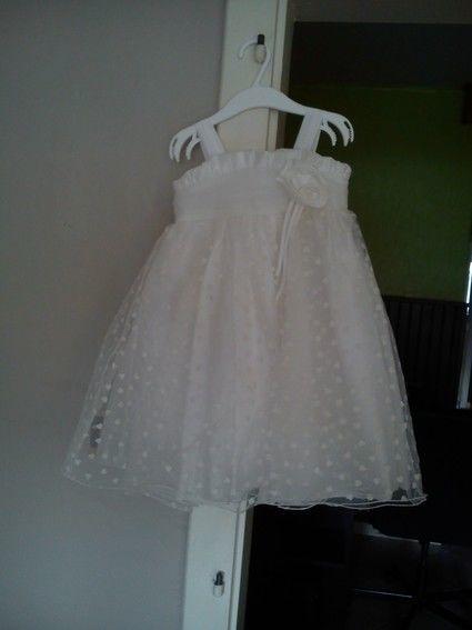 Robe tati pour fille de 2 ans idéale mariage