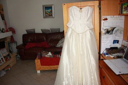 Robe de mariée style Romantique Victorien T38/40 - Alpes Maritimes