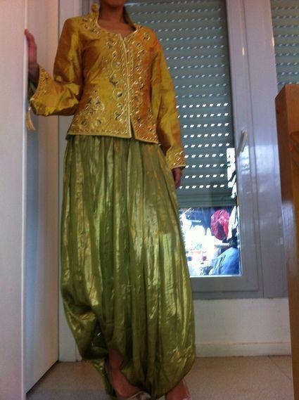 Karakou Mariée collection 2012/13 en soie sauvage à Paris