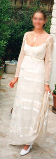 Robe Cymbeline ivoire Taille 40 - Occasion du Mariage