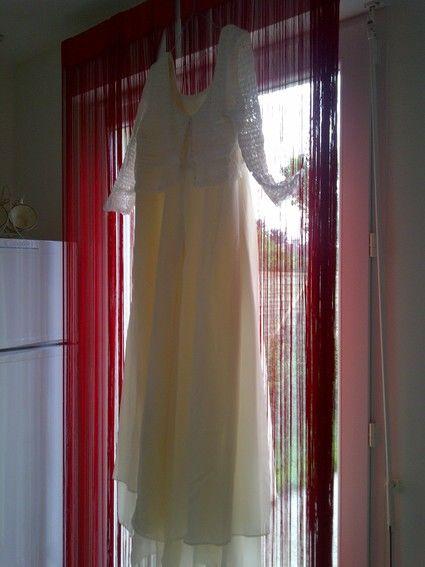 Robe de mariée longue écrue et broderies pas cher en 2012 - Occasion du Mariage