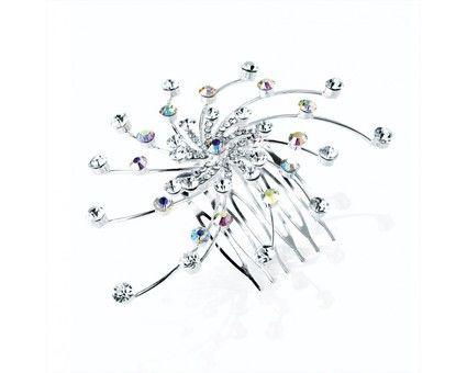 Peigne mariage cristaux fantaisie - Val d'oise