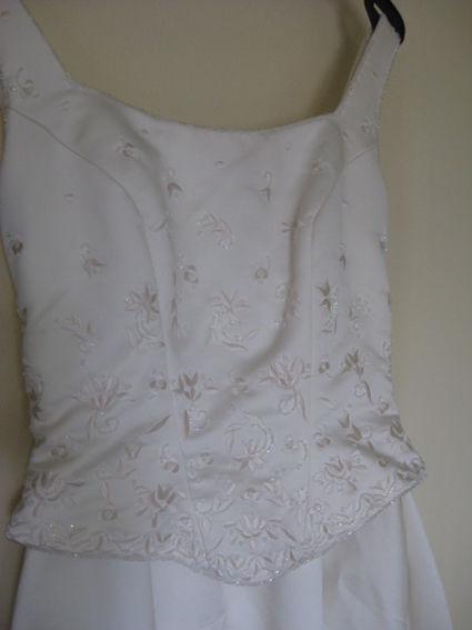 Robe de mariée de la boutique parisienne Les mariés d'Elodie - Occasion du Mariage