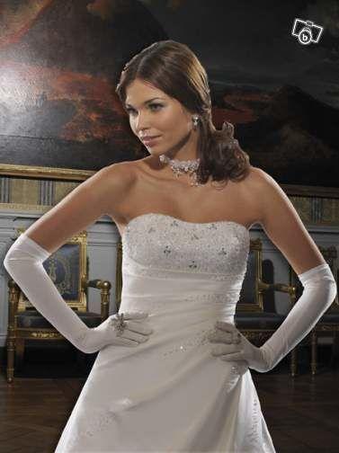 Robe de Mariée Tomy Mariage en Satin  Taille 36