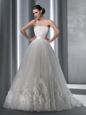 Robe de mariée haute couture Elianna Moore d'occasion