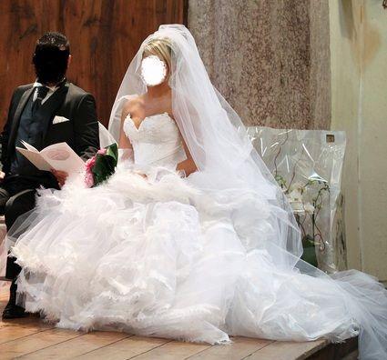 Robe de Mariée de créateur Frederic Alzra modèle unique