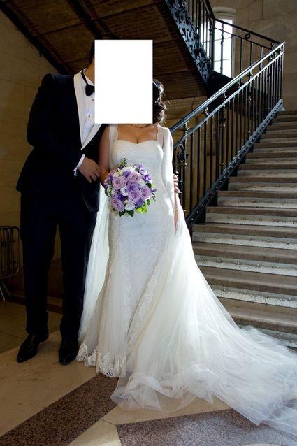 Robe de mariée Ponovias collection Manuel Mota 2012 Modèle E