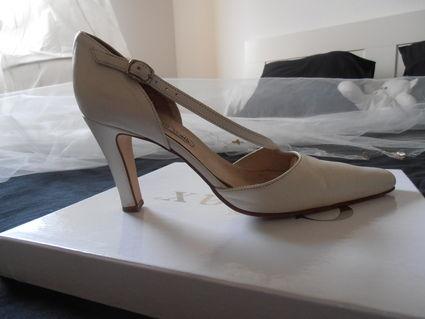 Chaussures de mariée pas cher nacrées - Occasion du mariage