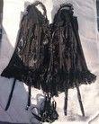 Splendide ensemble guêpière avec string couleur noire MARQUE - Occasion du Mariage