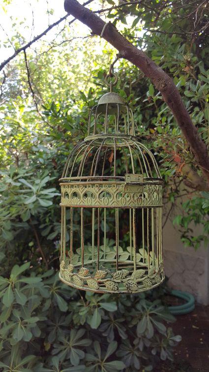 Très belles cages à oiseau de décoration x8 mariage - Val d'oise