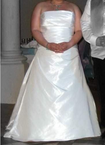 Robe de mariée d'occasion grande taille T50 Eglantine Creations modèle costa