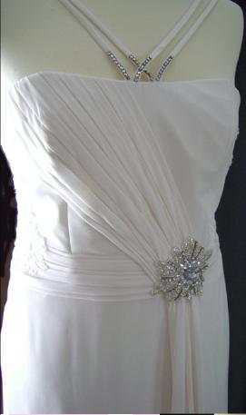 Robe de mariée d'occasion Hervé mariage pas cher 2012 - Occasion du mariage