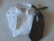 Chemise blanche col cassé + Cravalière grise - Occasion du Mariage