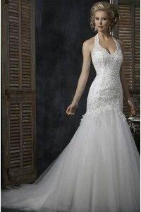 Robe de mariée neuve taille 40-42  en tulle et perles