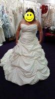 robe de mariée orpierre neuve et jupon - Occasion du Mariage
