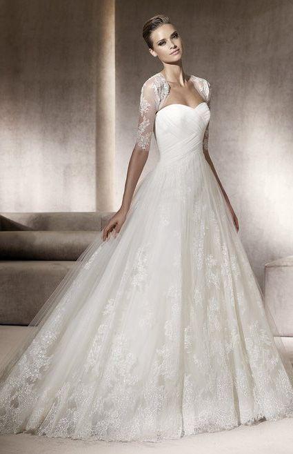 Robe de mariee pas cher PRONOVIAS collection costura 2012 - Occasion du mariage